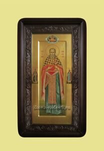 заказать мерную икону святой Иоанн Кронштадский в киоте