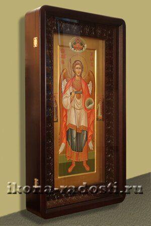 заказать мерную икону святой Архангел Михаил в киоте