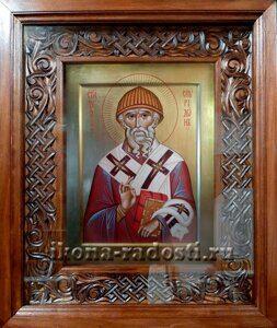 Икона Святитель Спиридон в киоте