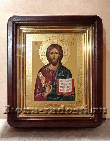 заказать икону Спаситель в киоте