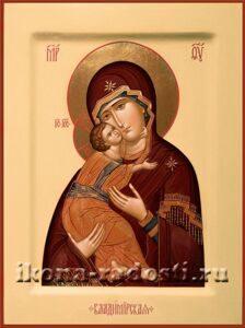 Венчальная пара Богородица Владимирская