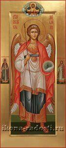 заказать мерную икону  святой Архангел Михаил