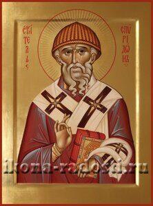 заказать икону святитель Спиридон Тримифунтский