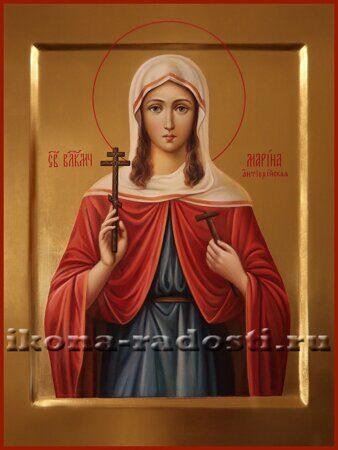 заказать икону святая великомученица Марина