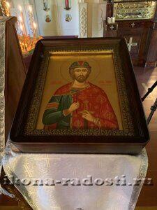 храмовая икона святой князь Игорь Черниговский