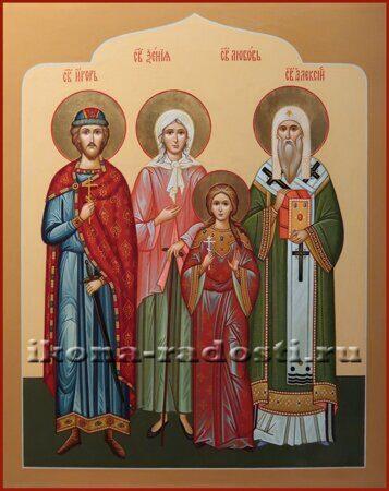 заказать икону святая Ксения Петербургская