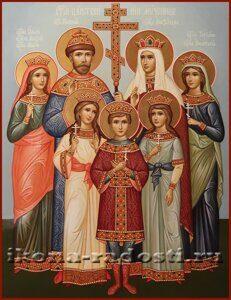 заказать икону Царская Семья
