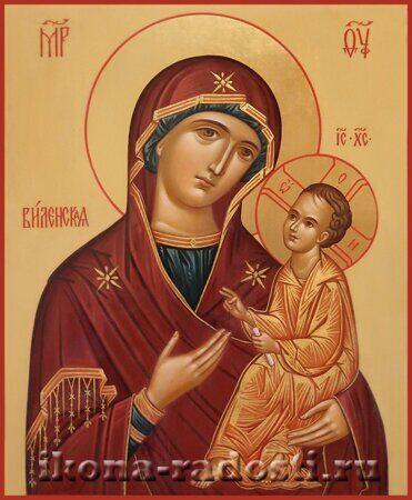 заказать икону Богородица Виленская