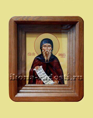 заказать икону святого покровителя в киоте
