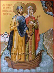 Святые благоверные князь Петр и княгиня Феврония